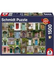 Пъзел Schmidt от 1500 части - Врати -1