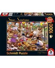 Пъзел Schmidt от 1000 части - Шеф мания, Стив Съндрам -1