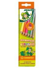 Цветни моливи JOLLY Kinderfest Extra MIX – 6 цвята