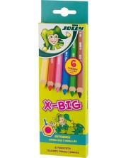 Цветни моливи JOLLY X-Big – 6 цвята