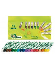 Восъчни пастели JOLLY Painty – 18 цвята -1
