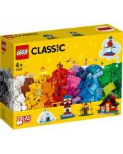 Конструктор Lego Classic - Тухлички и къщи (11008)