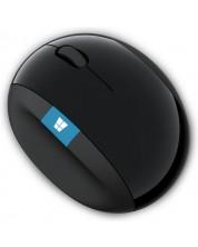 Мишка Microsoft - L6V-00005, безжична, черна