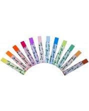 Цветни тебешири JOLLY Color – Квадратни, 12 броя