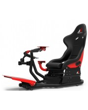 Racing Simulator RSeat RS1 - Assetto Corsa Edition, черен/червен