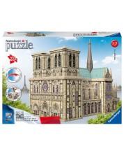 3D пъзел Ravensburger от 324 части - Катедралата Нотр Дам -1