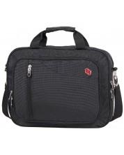 Чанта за лаптоп Pulse - Casual, черна -1