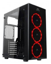 Кутия Redragon - Thundercracker, ATX mid tower, черна -1