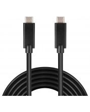 Кабел Sandberg - USB-C, 2M, черен
