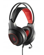 Гейминг слушалки Spartan Gear - Thorax, черни