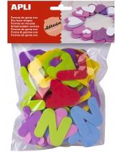 Меки цветни букви APLI – 104 броя -1