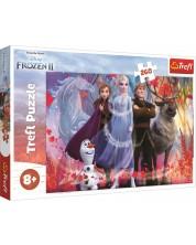 Пъзел Trefl от 260 части - Приключения в Замръзналото кралство 2