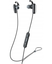 Слушалки Skullcandy - Method Wireless ANC, черни/сиви