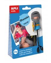 Tворчески комплект APLI - Направи си сам рицар