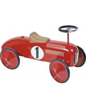 Детска играчка Gollnest & Kiesel - Метална кола, червена