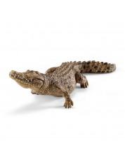 Фигурка Schleich от серията Дивия живот - Африка: Крокодил с подвижна челюст