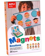Образователна магнитна игра APLI Kids – Емоции -1