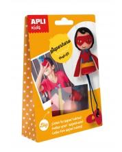 Tворчески комплект APLI - Направи си сам супергерой