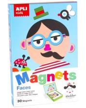 Образователна магнитна игра APLI Kids – Лица