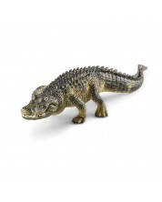 Фигурка Schleich от серията Дивия живот - Америка: Алигатор с подвижна челюст