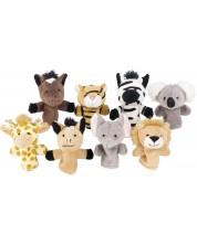 Кукли за пръсти Goki - Диви животни, асортимент