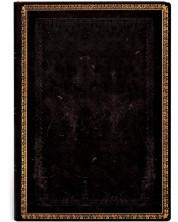 Тефтер Paperblanks - Black Maroccan, с ластик -1