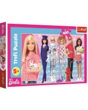 Пъзел Trefl от 100 части - Барби, Можеш да бъдеш какъвто пожелаеш