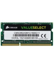 RAM памет Corsair - DDR3L, 1600MHZ 8GB 204 SODIMM -1