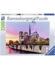Пъзел Ravensburger от 1500 части - Катедралата Нотр Дам
