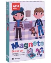 Детска магнитна игра Apli -  Облечи ме