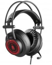 Гейминг слушалки Spartan Gear - Phoenix,  7.1, черни