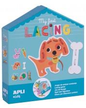 Детска игра APLI - Моята първа игра с 8 животни -1