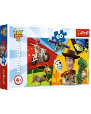 Пъзел Trefl от 60 части - Играта на играчките, Направени за игра -1