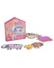 Детска игра Apli - Моята първа мозайка с 5 диви животни -1