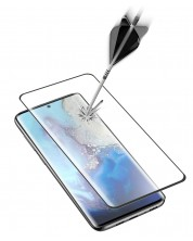 Закалено 3D стъкло Cellularline - за Samsung Galaxy S20, черно