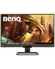 "Геймърски Монитор BenQ - EX2780Q, 27"", IPS, 144Hz,  2K, FreeSync,  сив -1"