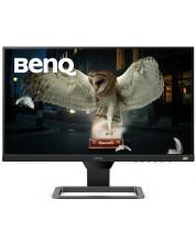 """Мотитор BenQ - EW2480, 23.8"""", IPS, FHD, FreeSync,черен -1"""