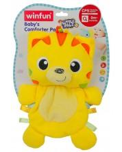 Плюшена играчка Winfun Little Pals - Шумолящно лъвче