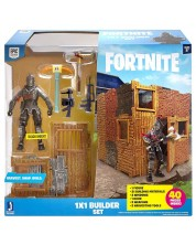 Комплект фигурки Jazwares Fortnite - Builder Set, с фигурка Black Knight, 40 части