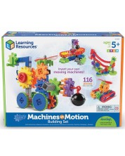 Детски конструктор Learning Resources - Машини в действие -1