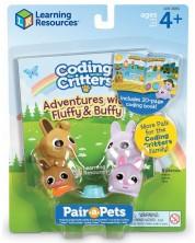 Детски комплект за игра Learning Resources - Флъфи и Бъфи -1