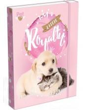 Кутия с ластик Lizzy Card A4 – Little Friends -1
