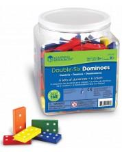 Детска игра Learning Resources - Гигантско домино -1