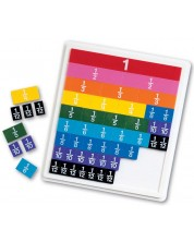 Детска образователна игра Learning Resources - Научи дробите -1