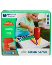 Детски комплект Learning Resources - Мозайка, с винтоверт -1