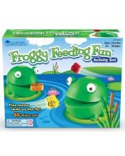 Детска игра Learning Resources - Нахрани забавната жабка -1