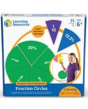 Детско математическо помагало Learning Resources - Дроби и проценти -1