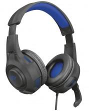 Гейминг слушалки Trust - GXT 307B Ravu, за PS4, сини