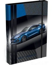 Кутия с ластик Lizzy Card A4 – Ford Mustang GT -1