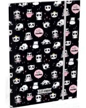 Папка с ластик Lizzy Card A4 - Hello Panda, Lollipop -1